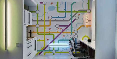 Papiers peints muraux - Papiers peints muraux • PIXERS.fr | stickers | Scoop.it