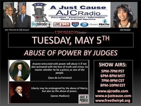 A Just Cause Coast 2 Coast - Abuse of Power By Judges | SocialAction2015 | Scoop.it