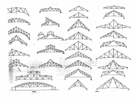 Tipos de estructuras trianguladas.Vigas-Cerchas-Porticos ... - INEVID | Estructuras | Scoop.it