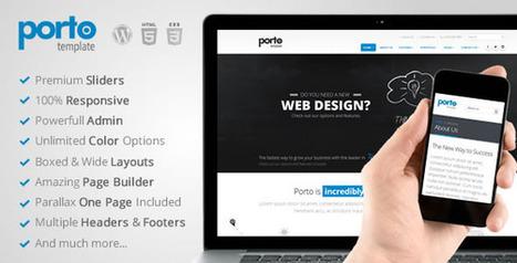 Porto Multipurpose Responsive WordPress Theme - Wordpress Themes | Themes4Free | Scoop.it