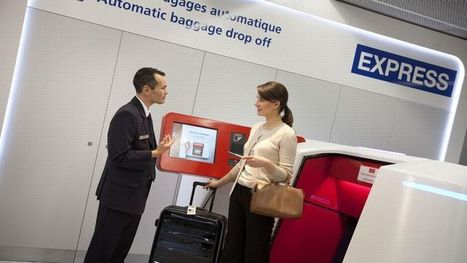 Air France propose à ses passagers d'enregistrer leurs bagages à l'avance | Marketing News | Scoop.it