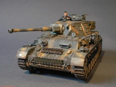 dragon panzer 4 ausf F2 Voronesh 1942 | Military Miniatures H.Q. | Scoop.it