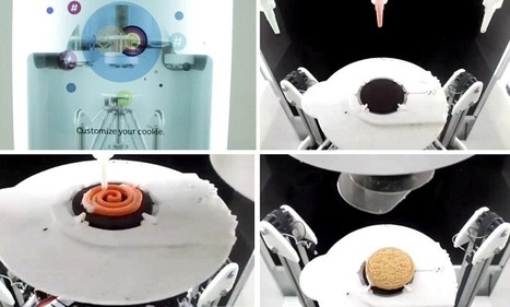Oreo vending machine uses 3D printing to create personalized treats - Daily Mail | Replika | Scoop.it