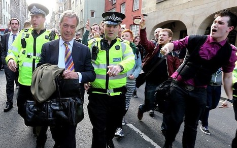 Nigel Farage: Scottish protesters were a 'feral mob of subsidised students' - Telegraph | The Indigenous Uprising of the British Isles | Scoop.it