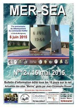 Bulletin Mer-Sea n° 12 / 15 mai 2015 | CGMA Généalogie | Scoop.it