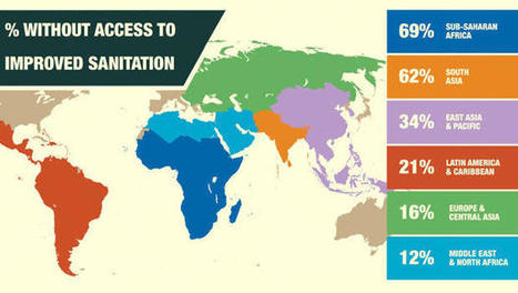 This Infographic Explains How Much Poor Sanitation Costs The World: $260 Billion A Year | Sanitation | Scoop.it