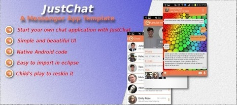 Buy JustChat- Android Chatting App Template App Templates | Chupamobile.com | android source code | Scoop.it