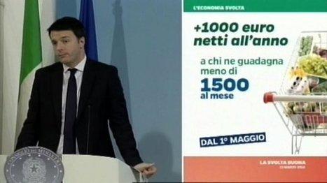 Le slide di Renzi, l'ironia del web e la difesa di Proforma   Attualità   Scoop.it