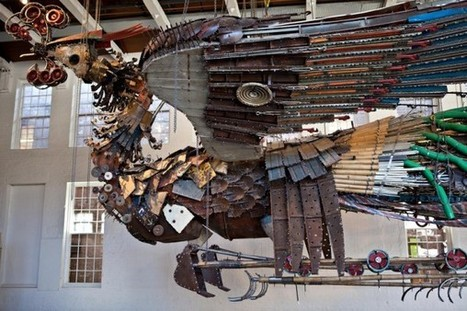 The Phoenix Project by Xu Bing Opening February 1 at the Cathedral Church of Saint John the Divine in New York   CAFA ART INFO   Monica qb trend   Scoop.it