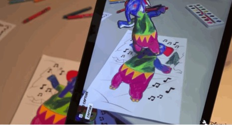 Researchers use AR to bring your coloring book to 3D | 4D Pipeline - trends & breaking news in Visualization, Mobile, 3D, AR, VR, and CAD. | Scoop.it