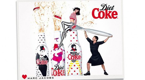 Marc Jacobs & Ginta Lapina For Diet Coke 30th Anniversary Campaign | DerriusPierre.Com | Scoop.it
