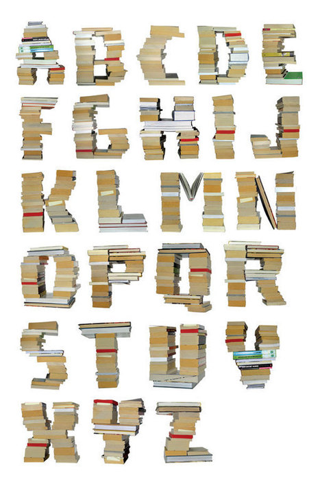 Bookmarking Book Art - A-Z by Byggstudio   Books On Books   Scoop.it