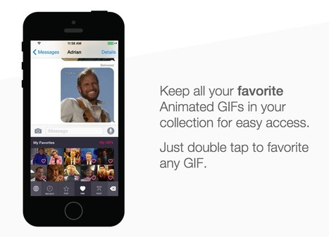 PopKey's iOS 8 Launch Will Replace Written Language With The Expressive Art Of The GIF | TechCrunch | Digital Curation for Teachers | Scoop.it