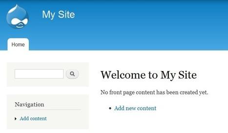 Comment créer un site web avec Drupal   Au fil du Web   Scoop.it