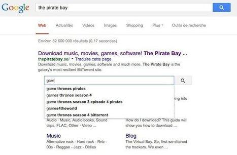 Google et ses petits moteurs pirates | Libertés Numériques | Scoop.it