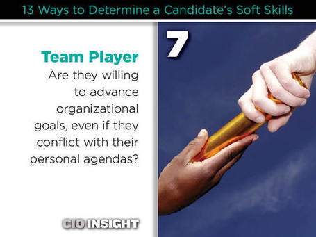 13 Ways to Determine a Candidate's Soft Skills | iGeneration - 21st Century Education | Scoop.it