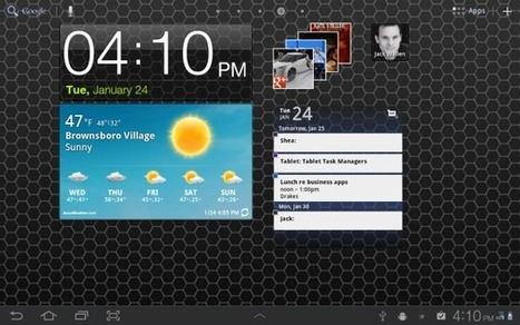 10 must-have Android apps (revisited) | TechRepublic | Apps and Widgets for any use, mostly for education and FREE | Scoop.it