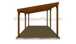 Wood Carport Designs | Free Outdoor Plans - DIY Shed, Wooden Playhouse, Bbq, Woodworking Projects | Carport plans | Scoop.it