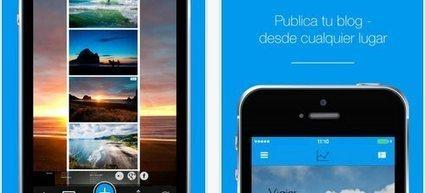 Jimdo, para crear y editar páginas web en iOS, añade función de Blog   TIC y educación   Scoop.it