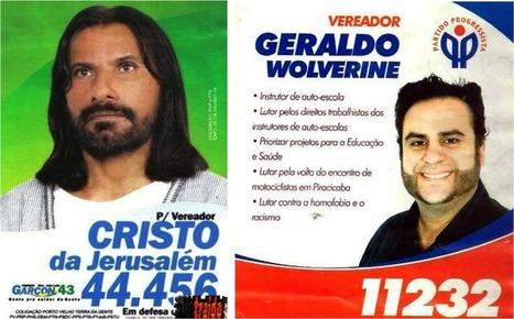 Election Brésilienne : Jesus, Batman et Jacky Chan sur les rangs   Chick' n Touch - Le blog   Scoop.it