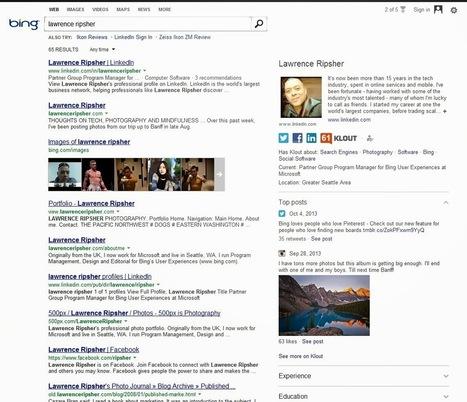 [SEO] Bing lance son AuthorShip en association avec Klout | Social Media Curation par Mon Habitat Web | Scoop.it