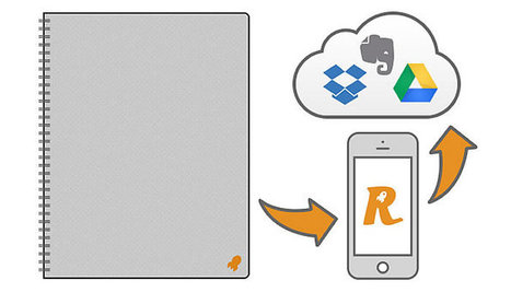 L'étonnant bloc-notes papier relié au Cloud qui s'efface au micro ... - Presse-citron (Blog) | Autour du nuage, sauvegarde mais pas que | Scoop.it