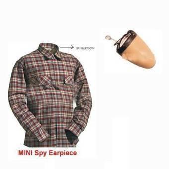 Spy Bluetooth Shirt Earpiece in Delhi India | Spy Bluetooth Earpiece Shirt Set | Scoop.it