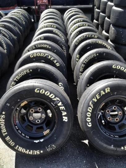 Goodyear Tyres sidewall