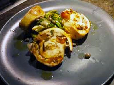 Pollo Porchettato - Chicken cooked like porchetta from central Italy | Le Marche and Food | Scoop.it