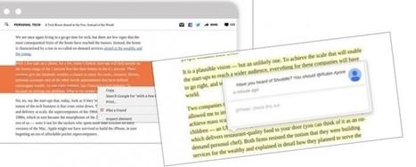 Una extensión para añadir comentarios en el contenido web que nos interesa | Recull diari | Scoop.it