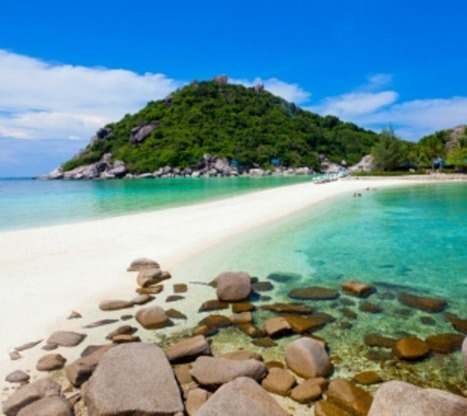Need a paradise with serenity? Koh Nang Yuan- Paradise Island | Make a Trip & Travel to the beach. | Scoop.it