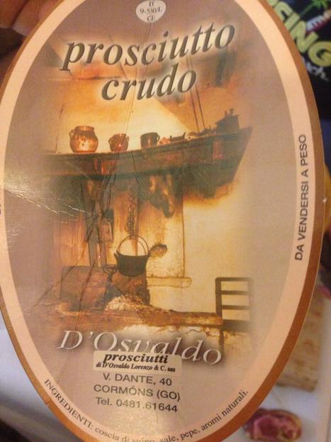 Prosciutto d'Osvaldo | Ristorante Roma | Scoop.it
