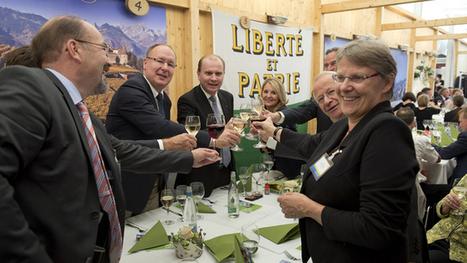 Vaudois et Zougois passent un pacte d'amitié à la Zuger Messe   Röstigraben Relations   Scoop.it