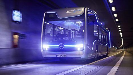 Mercedes-Benz's semi-autonomous bus just passed its first major test | e.cloud | Scoop.it