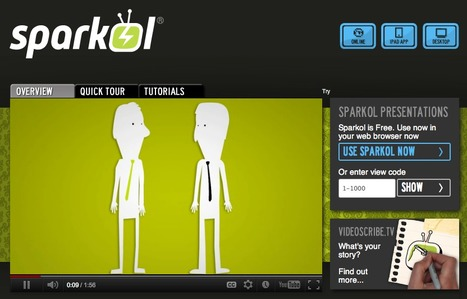 Sparkol® - What's your story? | EFL Teaching Journal | Scoop.it