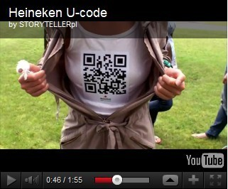 burger-web: QR codes : Heineken facilite les rencontres entre festivaliers | QR-Code and its applications | Scoop.it