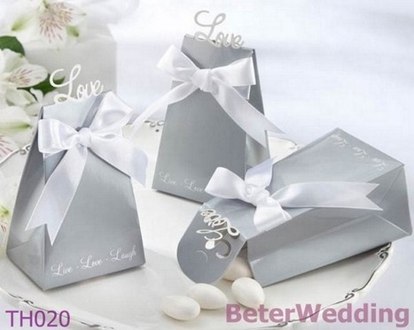 108pcs TH020 Laser Cut Forever Love Wedding Favor Box | 純歐式婚禮喜糖盒 倍樂婚品 | Scoop.it