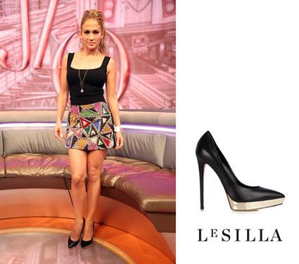 """Jennifer Lopez on """"Le Silla"""" at the """"106 & Park Live""""   Le Marche & Fashion   Scoop.it"""