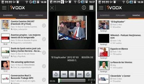 La plataforma iVoox, para escuchar podcasts y radios a la carta, lanza su app para smartphones | Herramientas digitales | Scoop.it