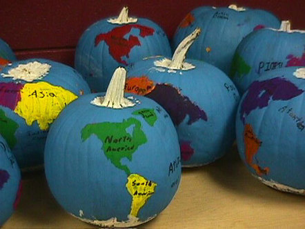 Pumpkin Geography | SMS LiBrArY | Scoop.it