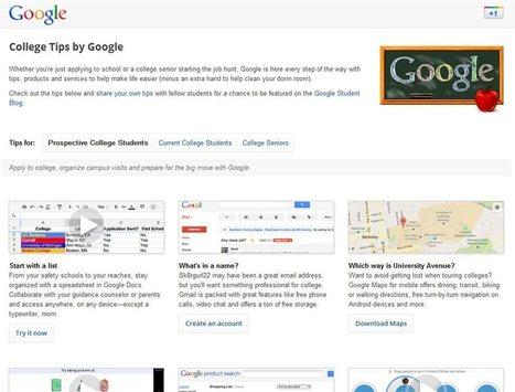 Google crea un sitio web con consejos para estudiantes   #REDXXI   Scoop.it
