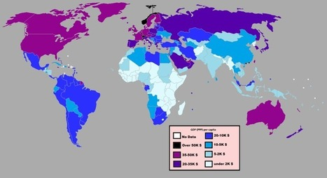 GDP  Per Capita by Country | AP Human Geography Petrides | Scoop.it