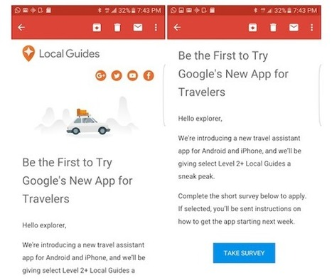 Google May Launch A New Travel App Soon | ALBERTO CORRERA - QUADRI E DIRIGENTI TURISMO IN ITALIA | Scoop.it