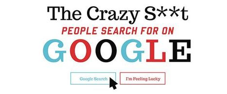 The Crazy S**t People Search for on Google | technoliterati v.2.0 | Scoop.it
