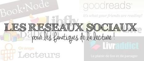 Les Réseaux Sociaux Littéraires - Lequel choisir ? | Communication #Web & Réseaux Sociaux | Scoop.it
