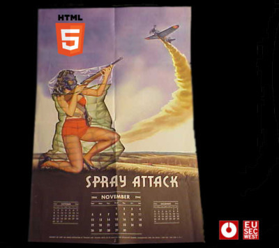 HTML5 Heap Spray. EUSecWest2012 | Be Smart...Be Safe..its not safe out there | Scoop.it