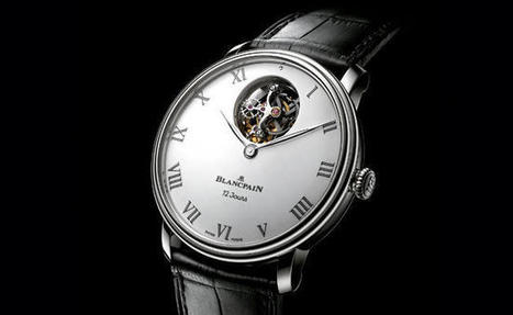 Baselworld 2014: The new Blancpain tourbillon thinks big by Blancpain | Watchonista | Montre, Horlogerie,Chronos | Scoop.it