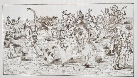 Le manuscrit original et illustré d'Alice au Pays des Merveilles à lire en ligne | L'actu culturelle | Scoop.it