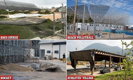 Rio Olympics venues far from complete with just 5 weeks to go | CLOVER ENTERPRISES ''THE ENTERTAINMENT OF CHOICE'' | Scoop.it