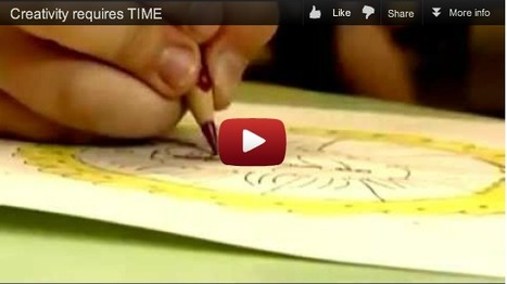 Creativity and Quality vs Time Constraints and Quantity | Design in Education | Scoop.it